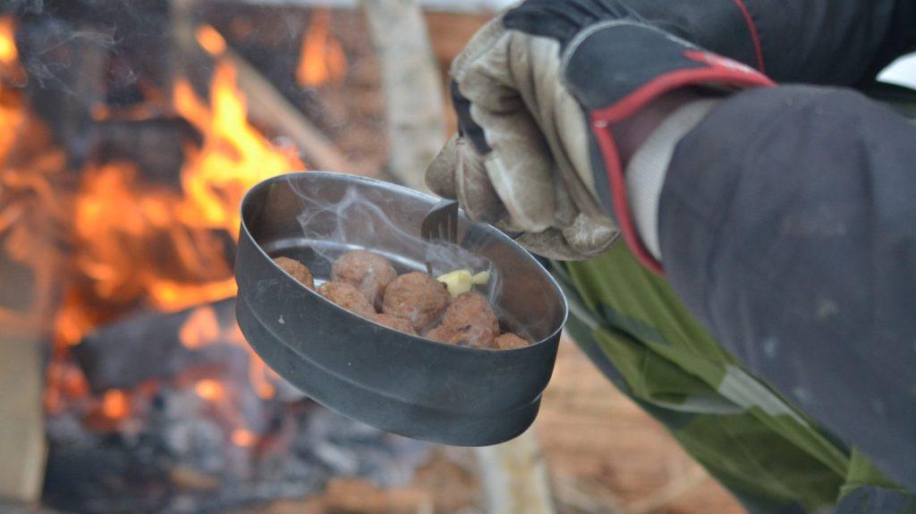 NRM Nest 5 ski trip food