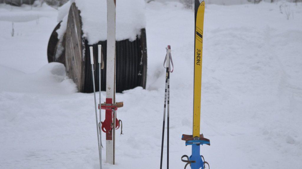 NRM Nest 5 ski trip skis