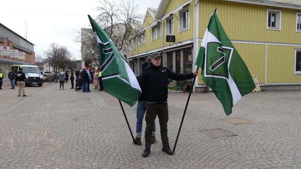 Nordic Resistance Movement activity in Vetlanda