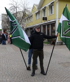 Nordic Resistance Movement activity in Vetlanda