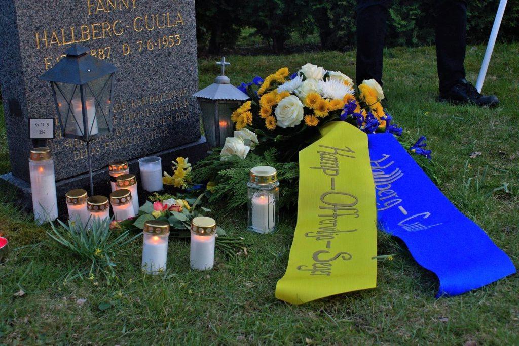 Gösta Hallberg-Cuula memorial in Stockholm, Sweden