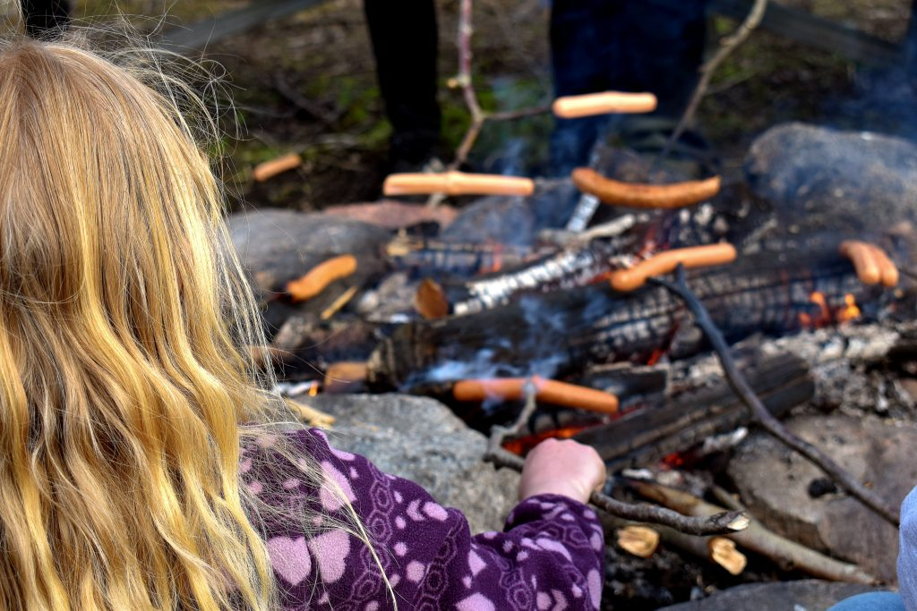 Barbecue at NRM hike in Sweden's Nest 2