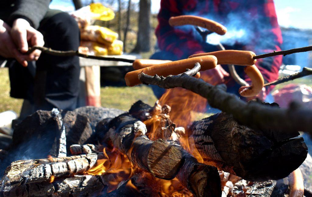 NRM barbecue on Bohusleden in Sweden's Nest 2