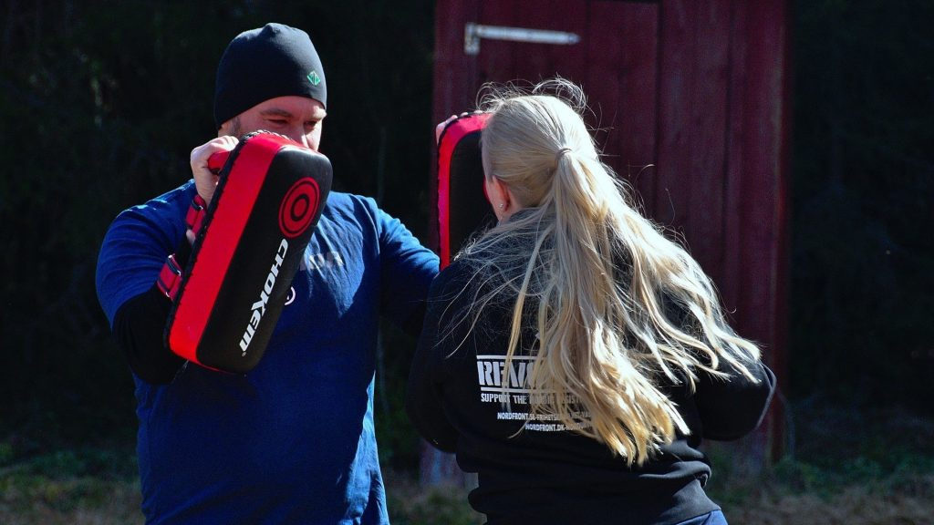 Nest 5 martial arts training, Dalarna, Sweden