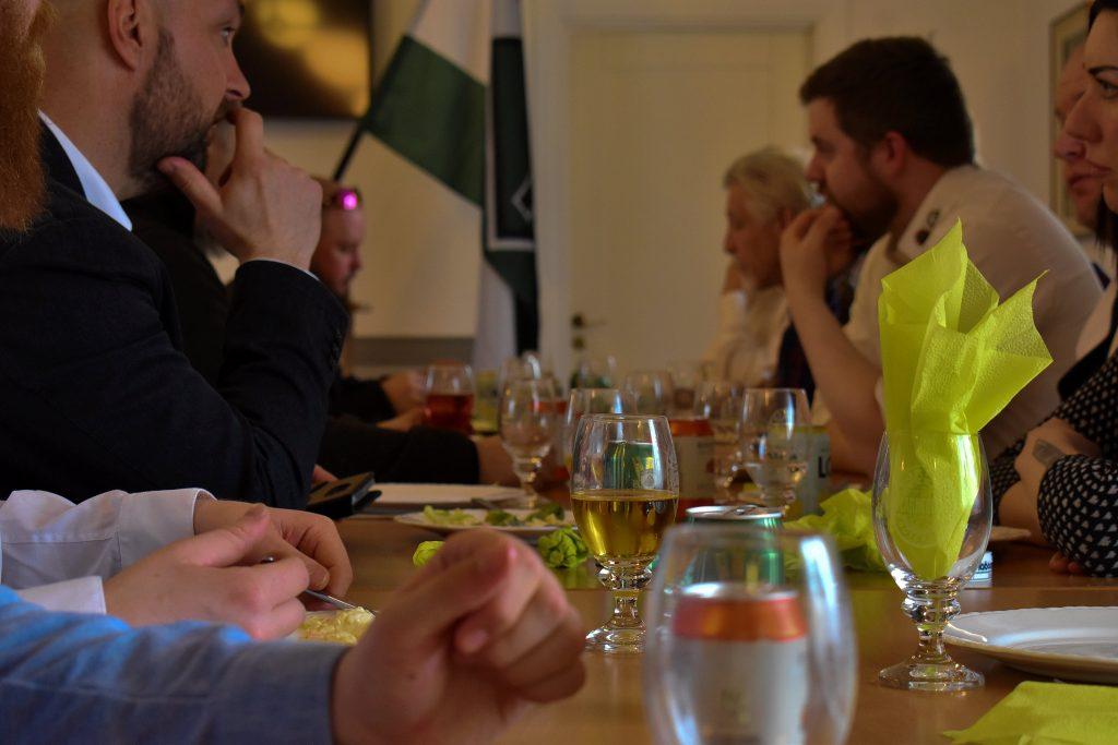 Nordic Resistance Movement Nest 2 meeting dinner