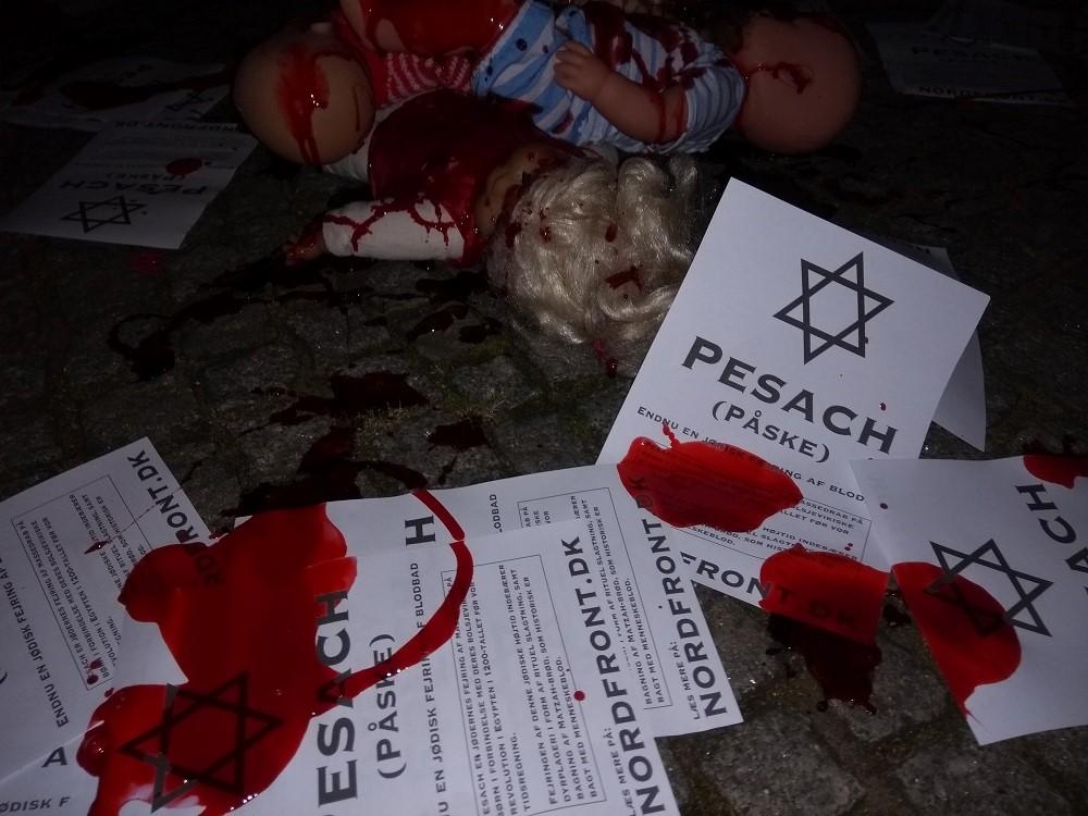 Pesach activism, Horsens, Denmark