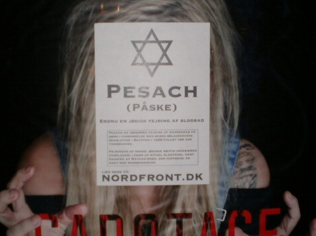 Pesach activism, Randers, Denmark