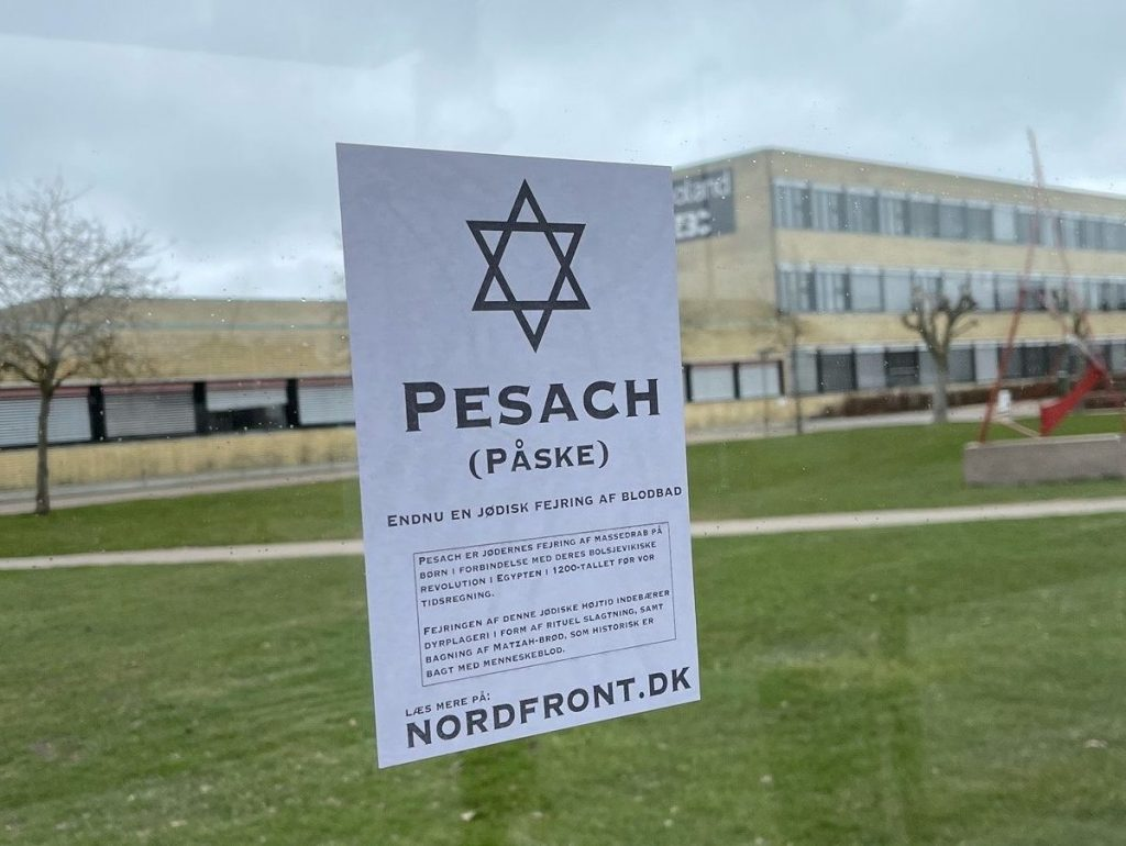 Pesach activism, Slagelse, Denmark