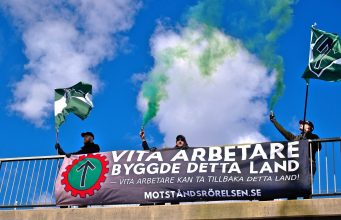 Nordic Resistance Movement May Day 2021 banner