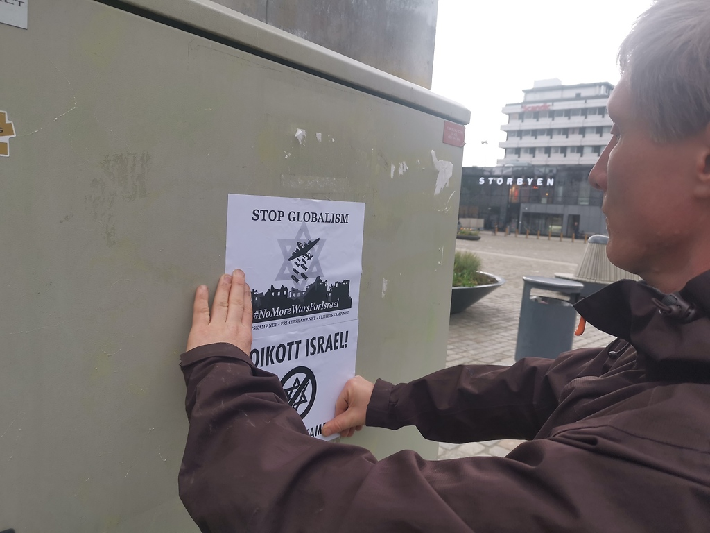 NRM poster activism in Eastern Norway