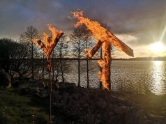 Burning runes at NRM Sweden's Nest 3 meeting