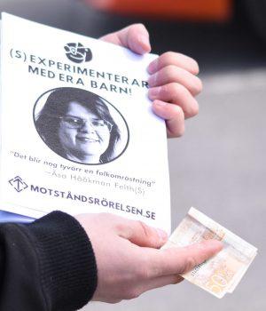 Nordic Resistance Movement activity in Filipstad
