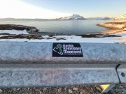 Nordic Resistance Movement sticker in Nuuk, Greenland