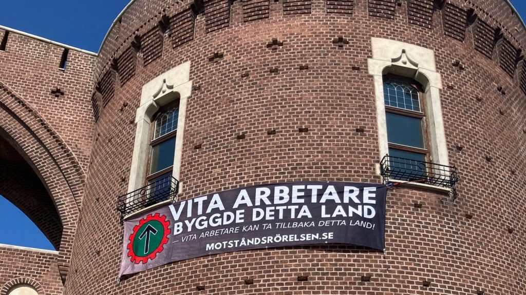Helsingborg castle NRM banner action