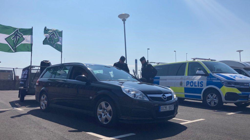 Police harassment of NRM activism, Helsingborg