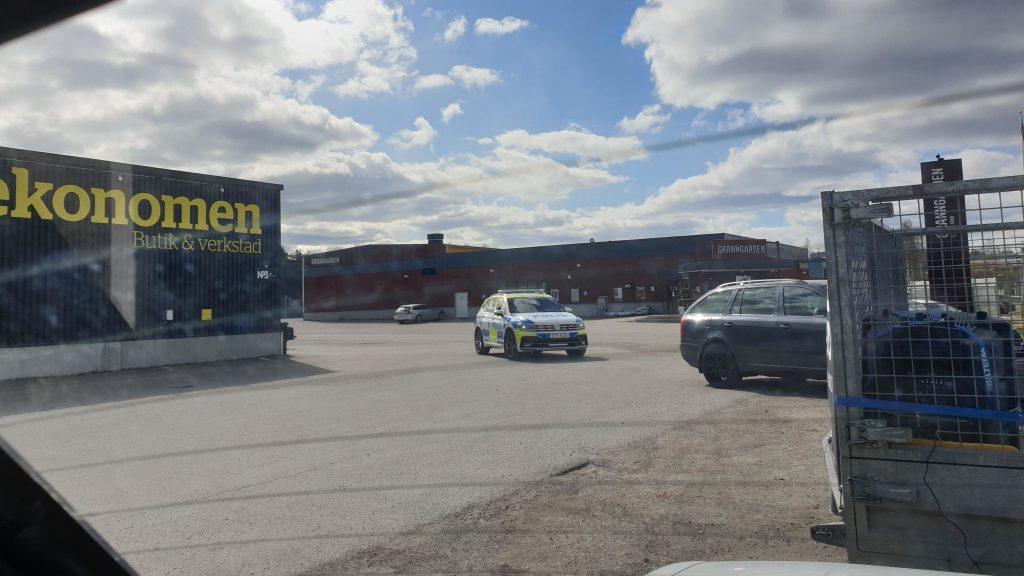 Police harassment of NRM activism, Sweden