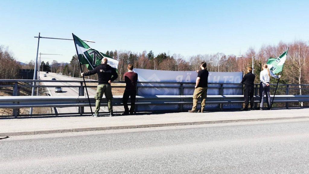 NRM Sweden's Nest 4 bridge banner action