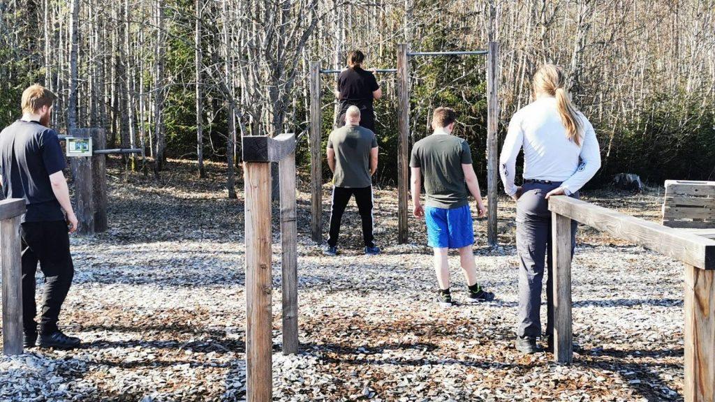 NRM Sweden's Nest 4 physical training