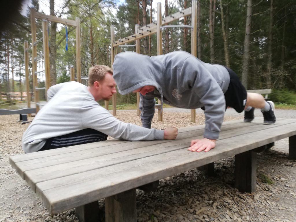Nest 8 physical training
