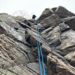 Abseiling in Sweden's Nest 3
