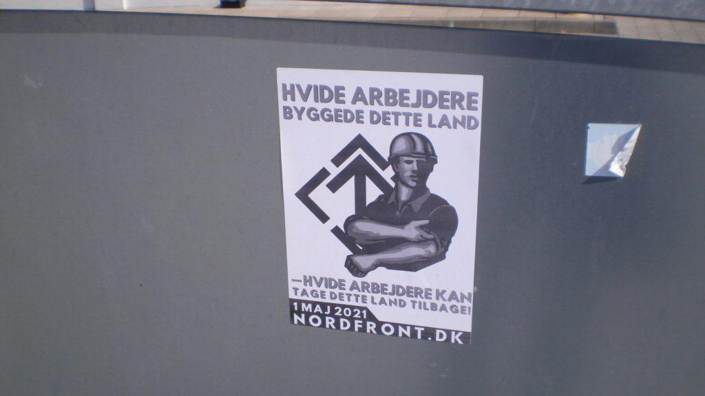 NRM poster in Randers, Denmark
