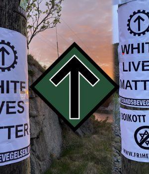NRM posters in Herdla, Norway