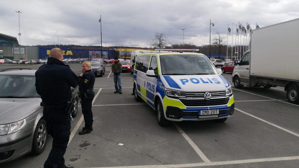 Police harassment of NRM activism, Småland, Sweden