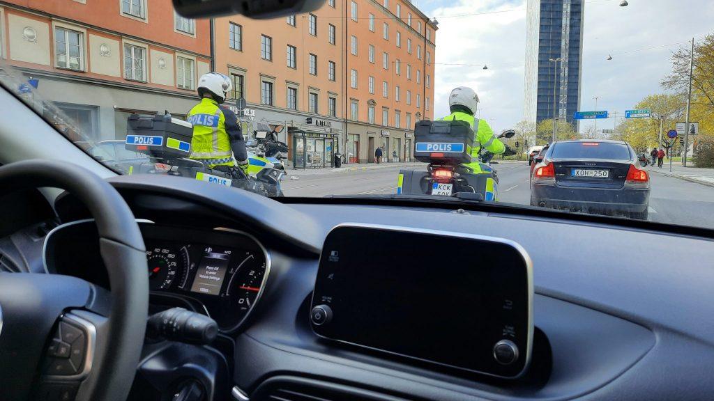 Stockholm NRM police harassment