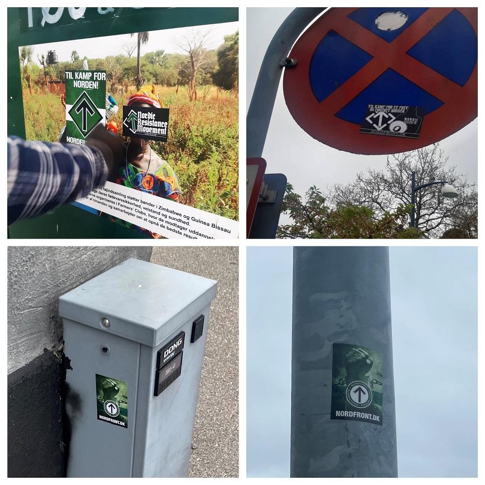 NRM stickers in Zealand, Denmark