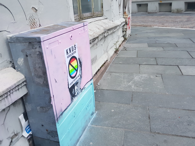 NRM poster against the homo lobby in Bergen, Norway
