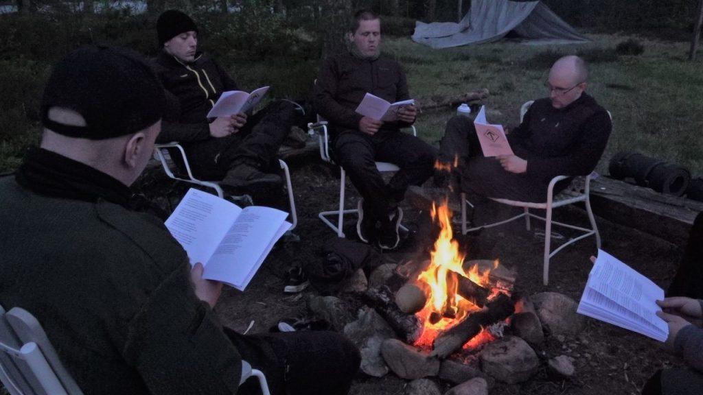 NRM camping on the Bohusleden, Sweden