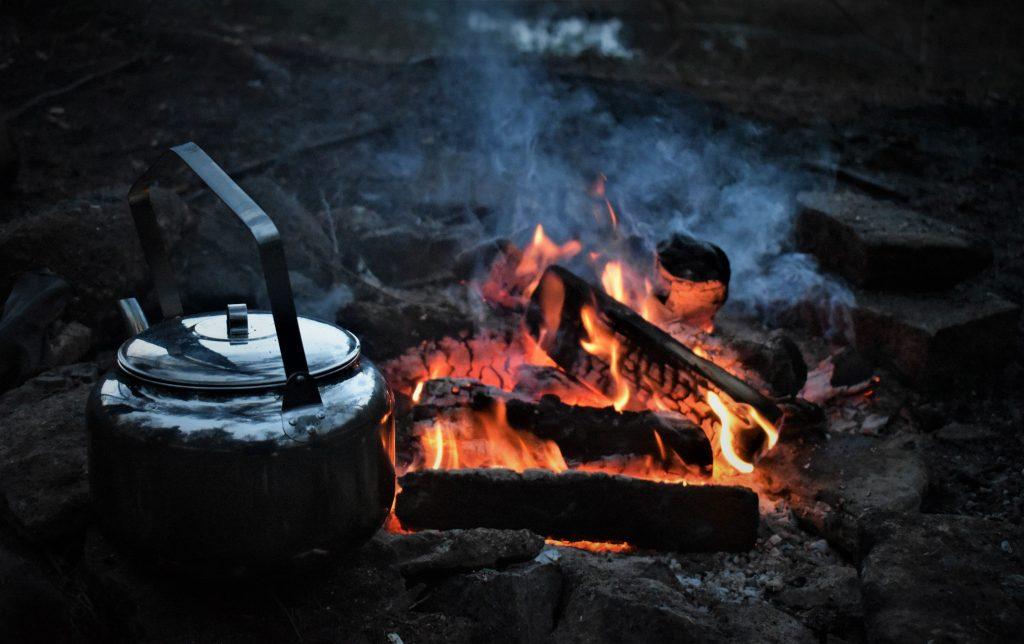 NRM camping on the Bohusleden trail, Sweden