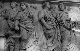 Classical Roman frieze