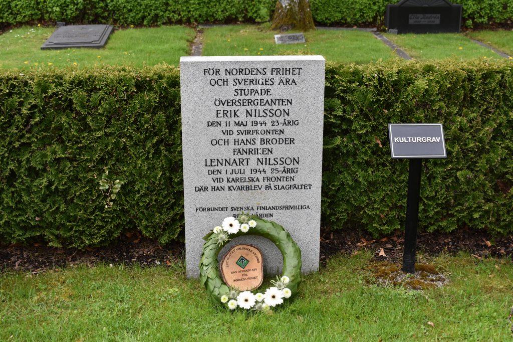 Grave of Finland volunteer fighters