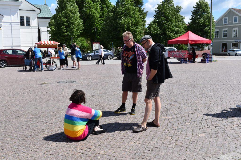 Reds at NRM public activity in Eksjö