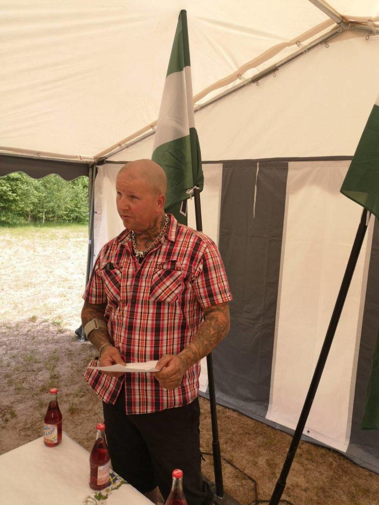 Tobias Malvå speaks at Nest 3 National Day meeting