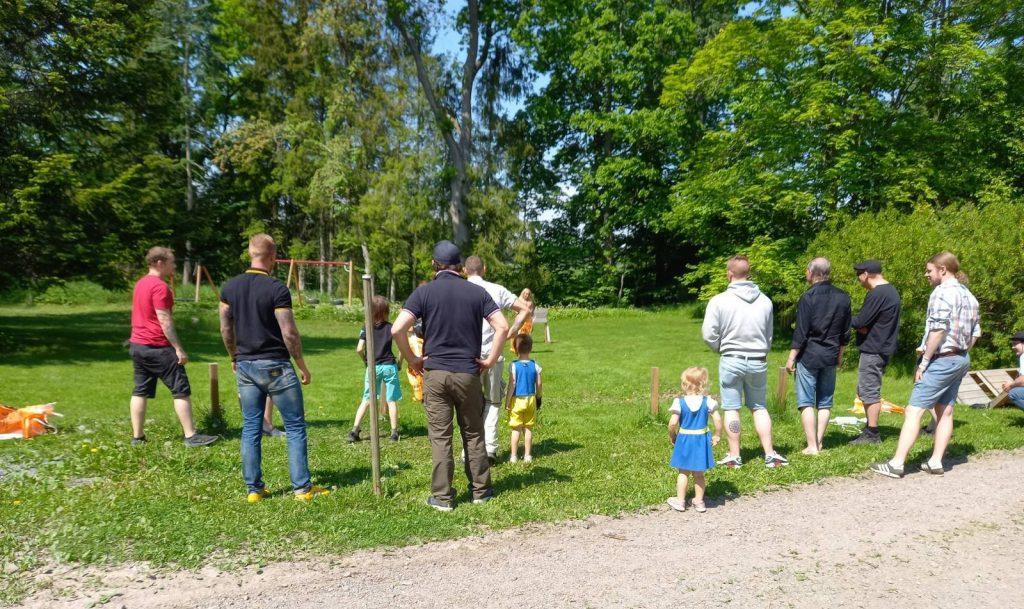 Nest 1 and 8 celebrate Swedish National Day