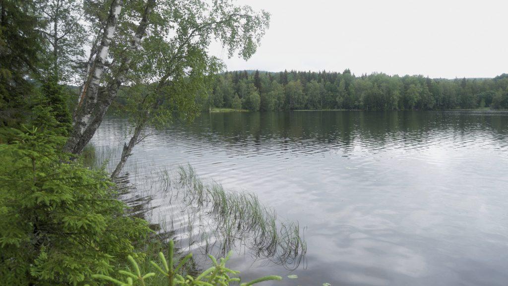 Lake near Borlänge, Sweden