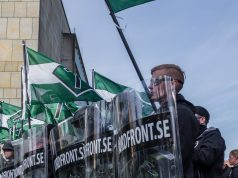 Nordic Resistance Movement demonstration in Gothenburg, Sweden