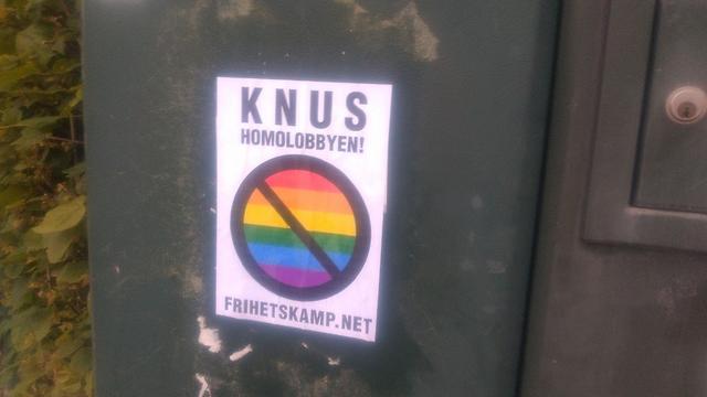 Crush the Homo Lobby poster