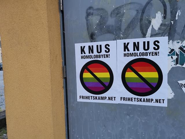Crush the Homo Lobby posters