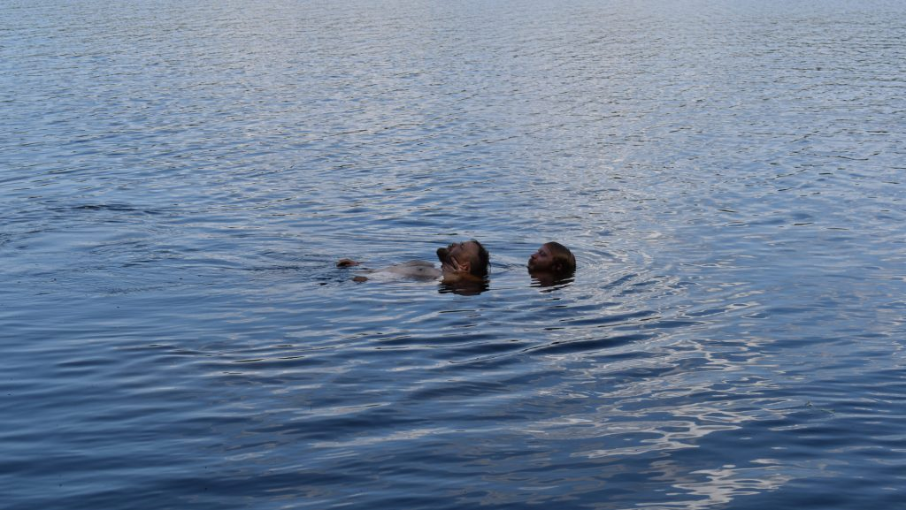 Water rescue training, Sweden's Nest 7