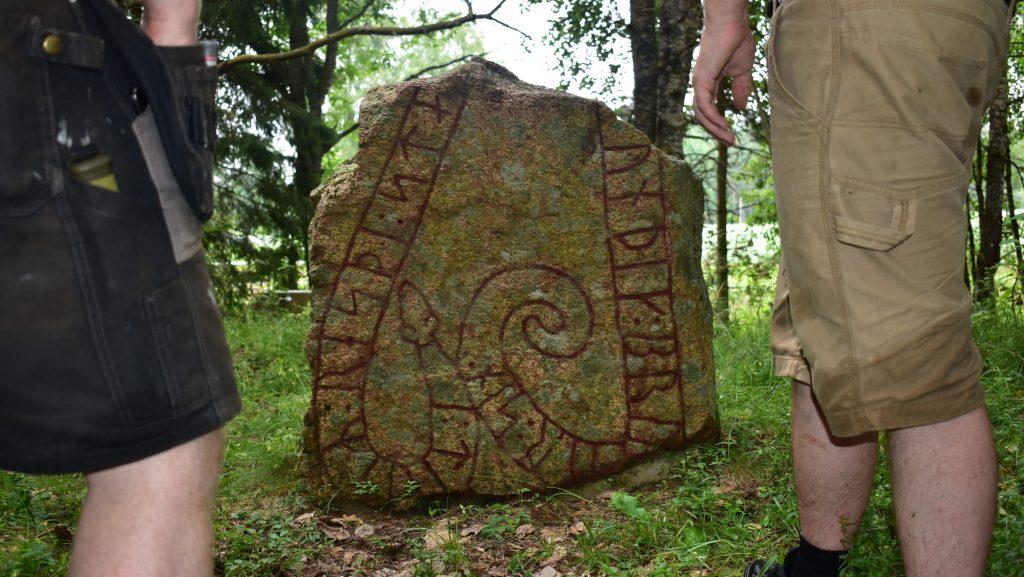Rune stone in Sweden