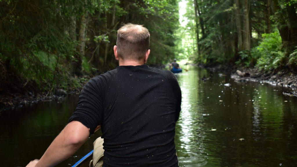 Canoeing in Sweden's Nest 7
