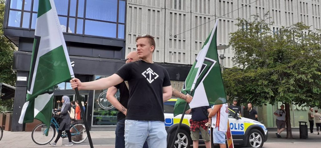 NRM day of action, Västerås, Sweden