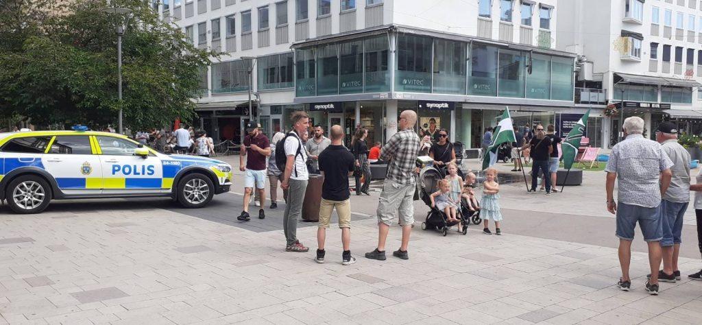 NRM day of action, Jönköping, Sweden