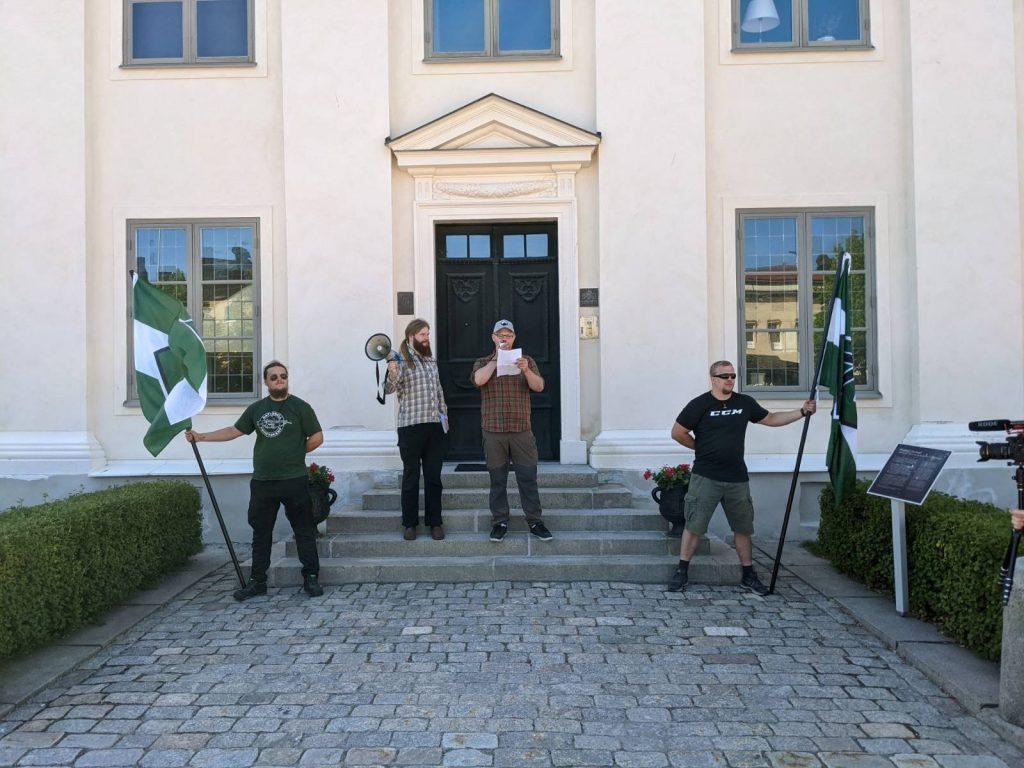 NRM day of action, Härnösand, Sweden