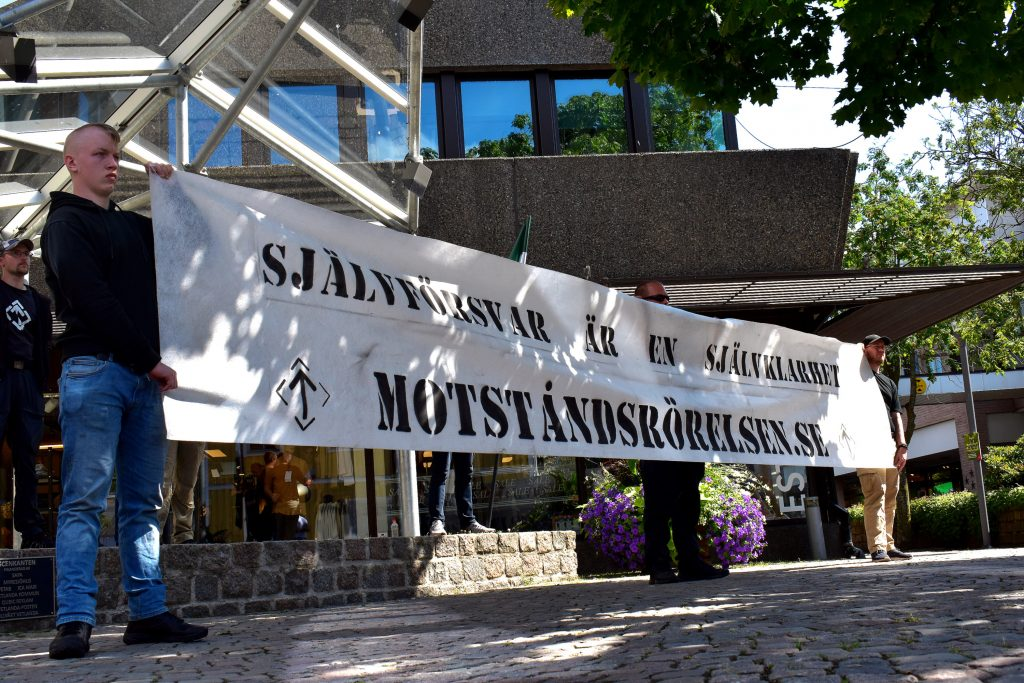 NRM public banner activism, Sweden