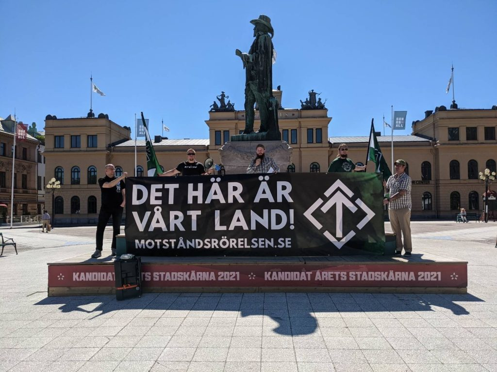 NRM public speech, Sweden