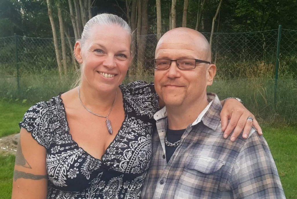 Pär Öberg and wife